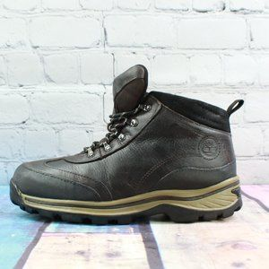 Timberland Dark Brown Leather Hiking Boot Size 4.5